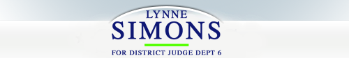 Lynne Simons For Judge